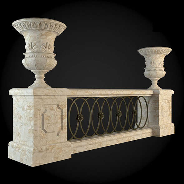 022_Baluster - 3DOcean Item for Sale