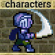 Pixel art game characters set - ActiveDen Item for Sale