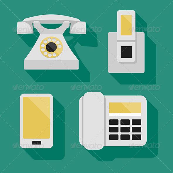 GraphicRiver Phones 6119684