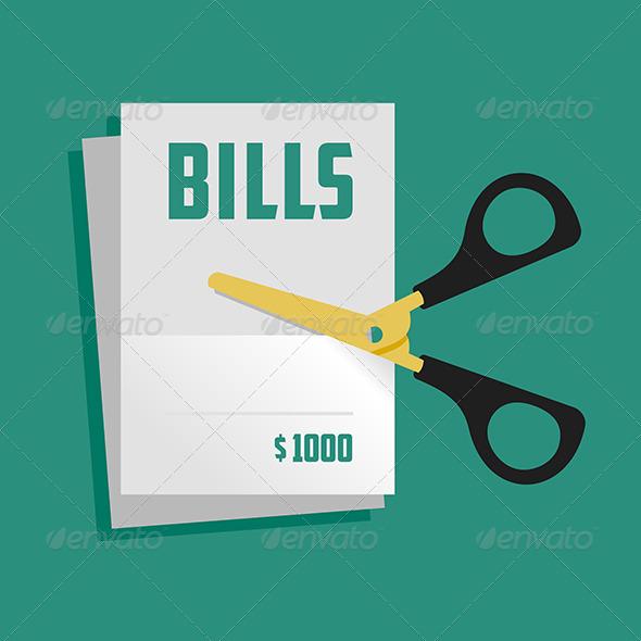 GraphicRiver Cut Bills 6119692