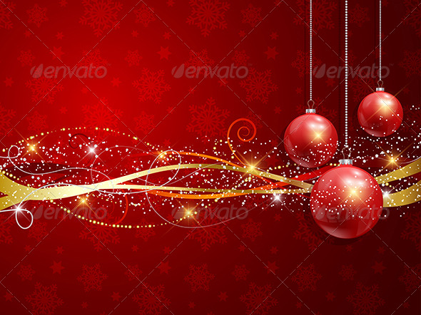 GraphicRiver Christmas Background 6119730