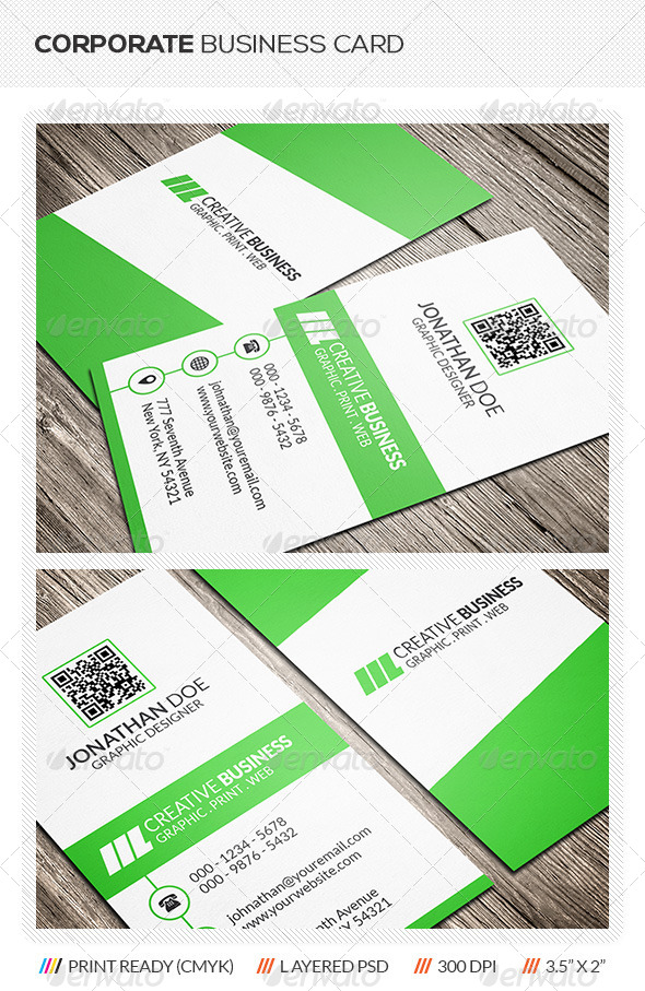 GraphicRiver Creative Corporate Business Card 6119734