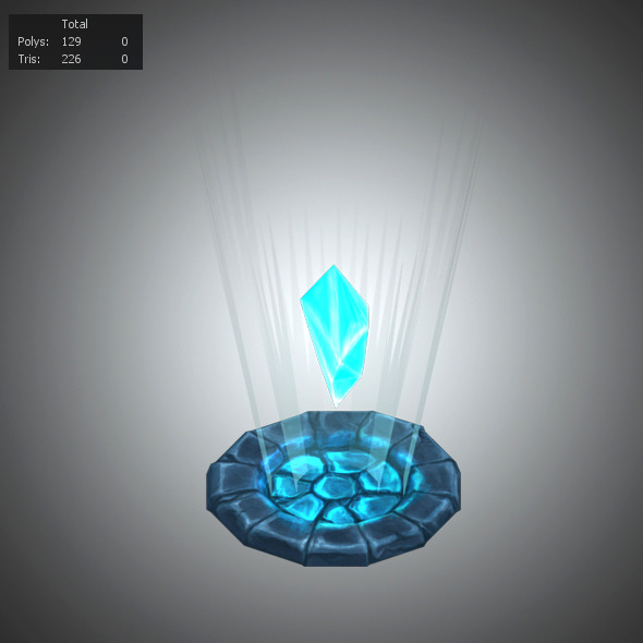 Diamonds Low Poly - 3DOcean Item for Sale