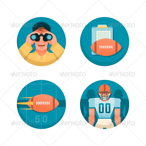 GraphicRiver American Football Part 1 6119763