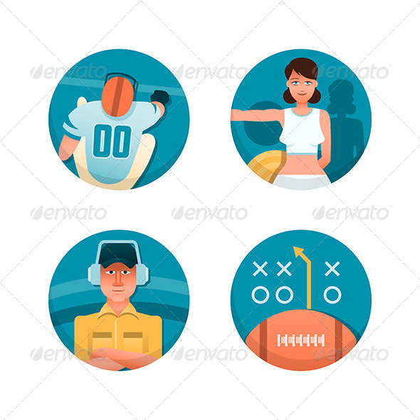 GraphicRiver American Football Part 2 6119766