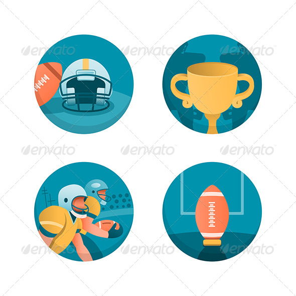 GraphicRiver American Football 6119771