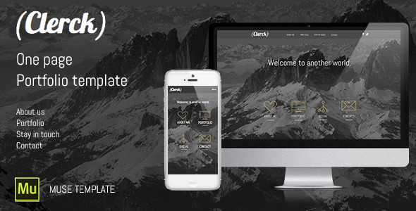 Clerck | Portfolio Muse Template