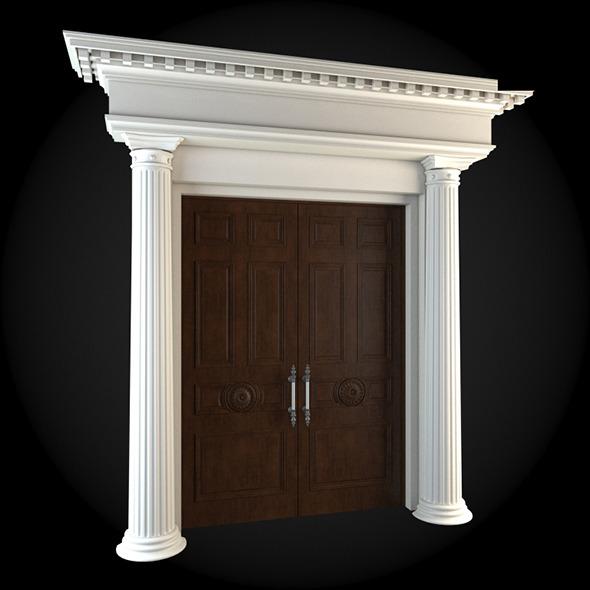 Door 024 - 3DOcean Item for Sale