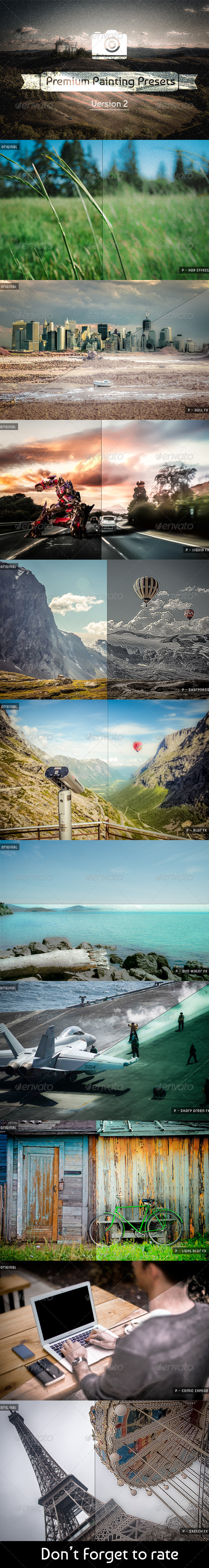 GraphicRiver 10 Painting Presets V2 6120909