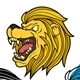 Lion Head Set Vector - GraphicRiver Item for Sale