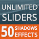 3D Web Slider With 50 Different Shadow Option