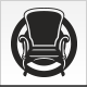 Retro Chair Logo - GraphicRiver Item for Sale