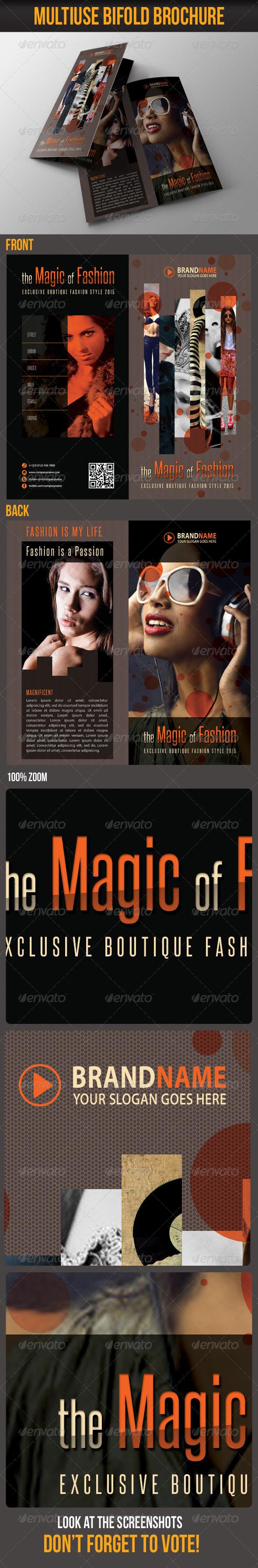 Multiuse Bifold Brochure 26 - Catalogs Brochures