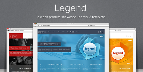 ThemeForest Legend Responsive Joomla Template 6121958