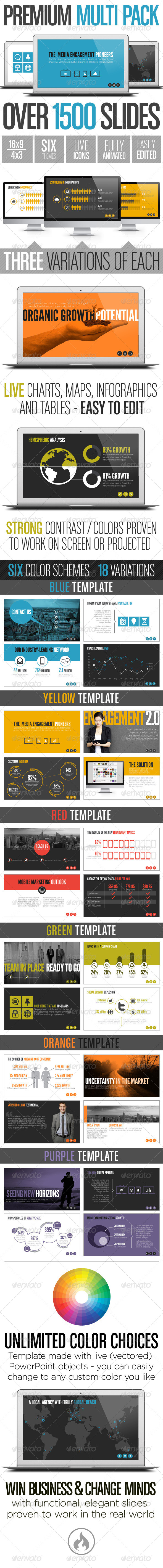 GraphicRiver Premium Multi Pack Template System 6122052