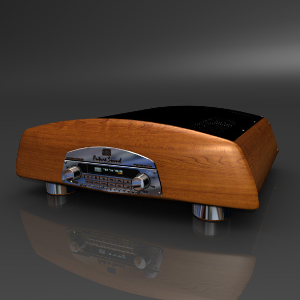 CD Player - 3DOcean Item for Sale