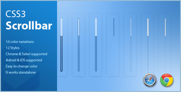 CSS3 Scrollbar Styles - CodeCanyon Item for Sale