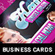 Hair and Beauty: Business Card Template - GraphicRiver Item for Sale