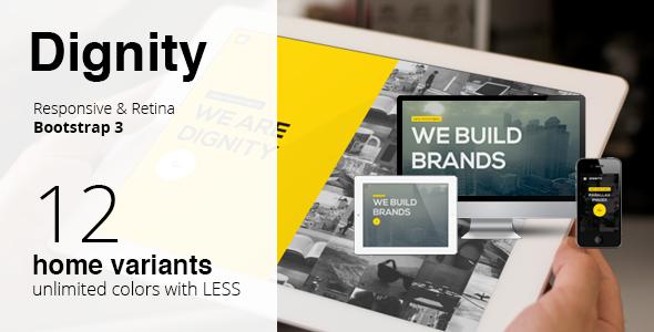 DIGNITY - Simple Portfolio Responsive Retina HTML5 - Portfolio Creative