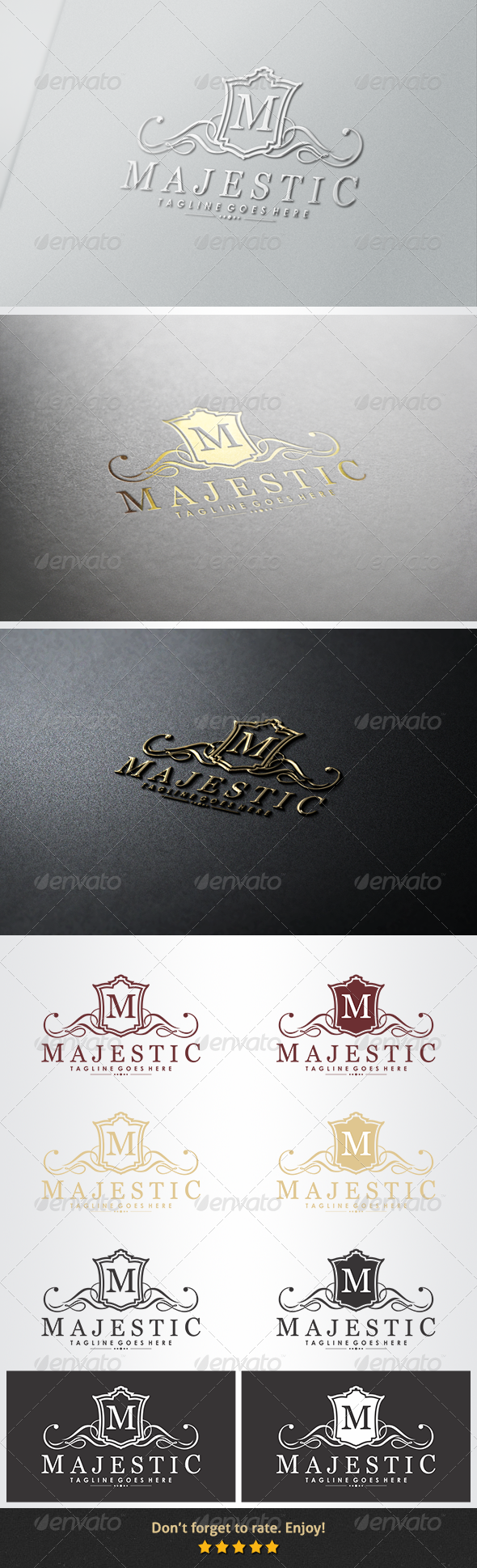 Majestic Logo - Crests Logo Templates