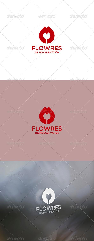 GraphicRiver Flowres Logo 6123481