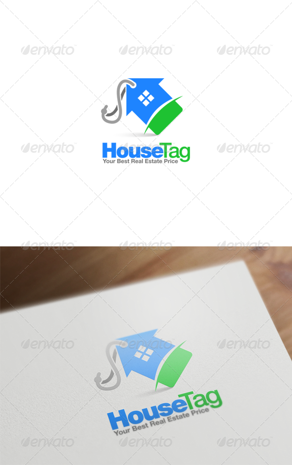 GraphicRiver Real Estate Logo Design 6123735