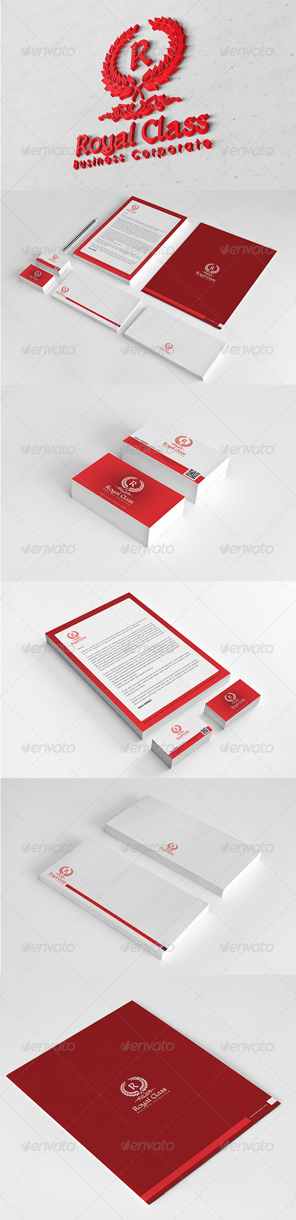 GraphicRiver Royal Class Corporate Identity Package 6123938