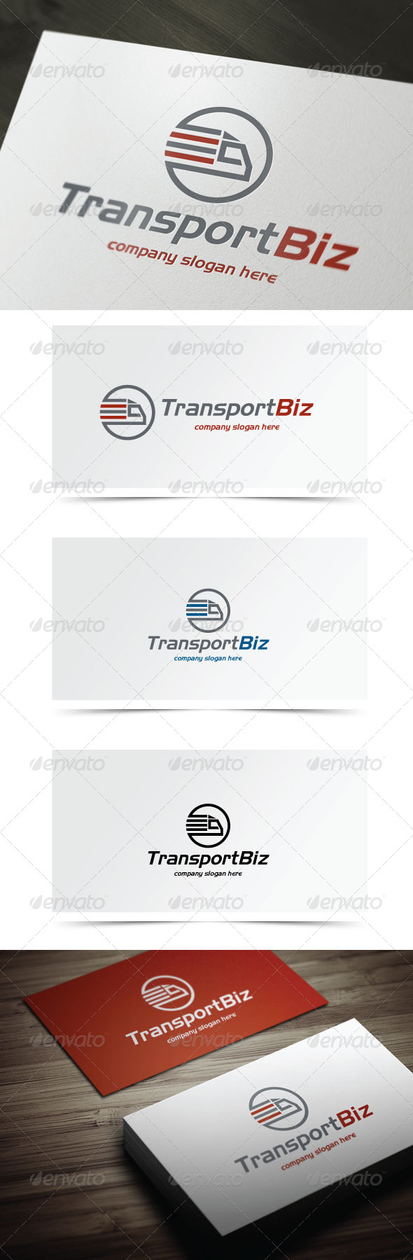 GraphicRiver Transport Biz 6123960