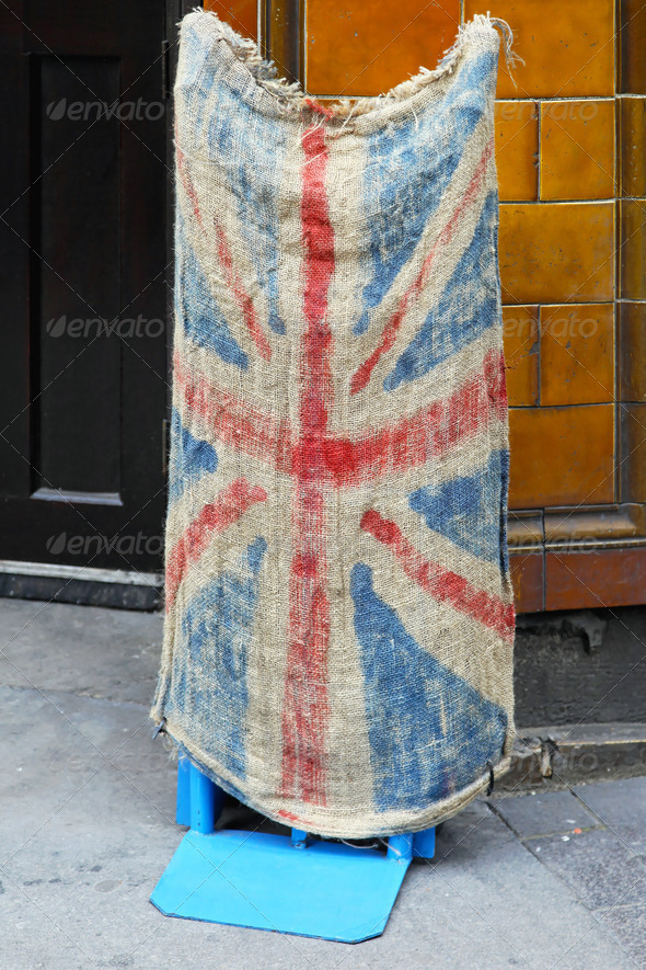 Grunge Union Jack - Stock Photo - Images