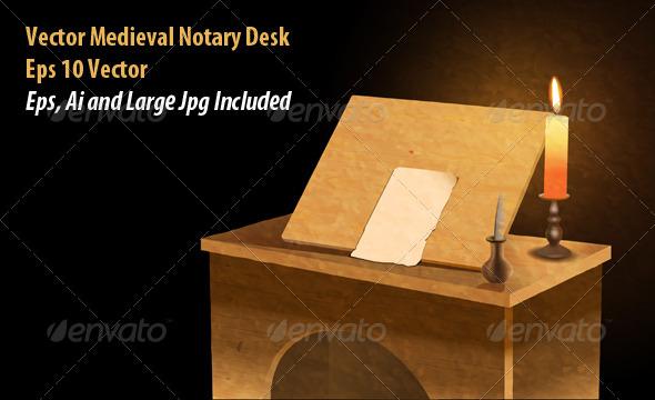 GraphicRiver Notary Desk 6124270