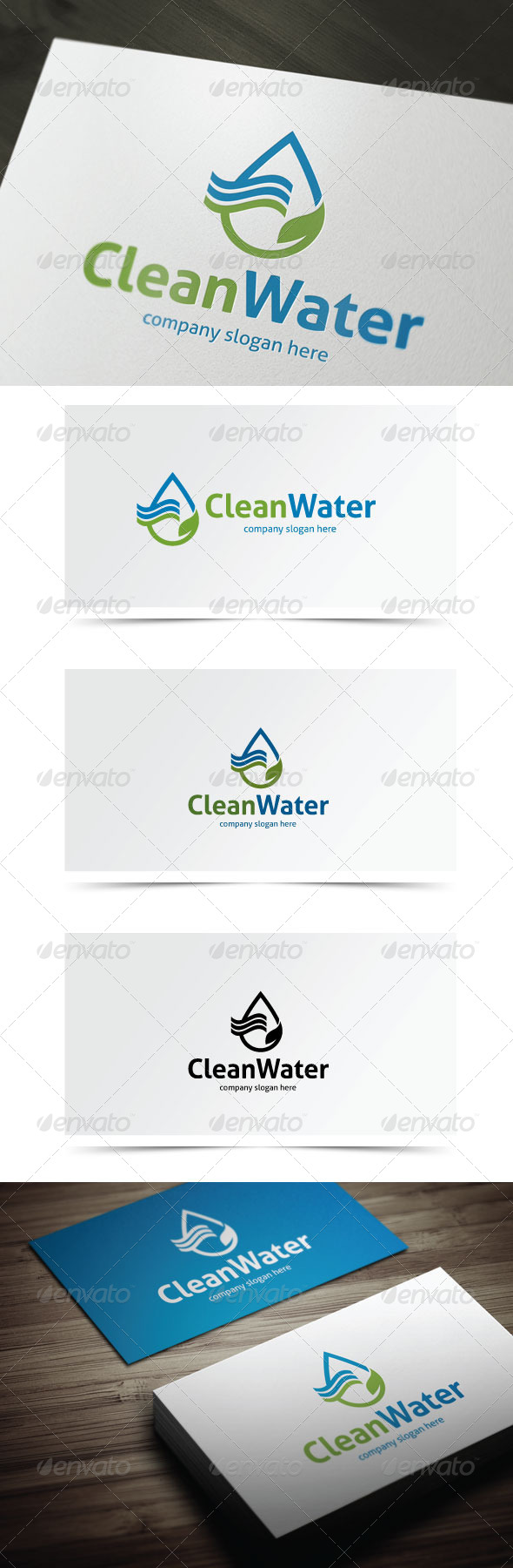 GraphicRiver Clean Water 6124303