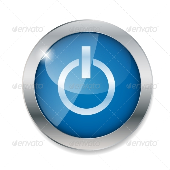 GraphicRiver Power Button Vector Illustration 6124345