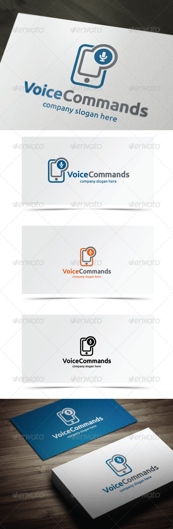 GraphicRiver Voice Commands 6124438