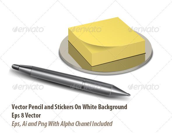GraphicRiver Note Set 6124533