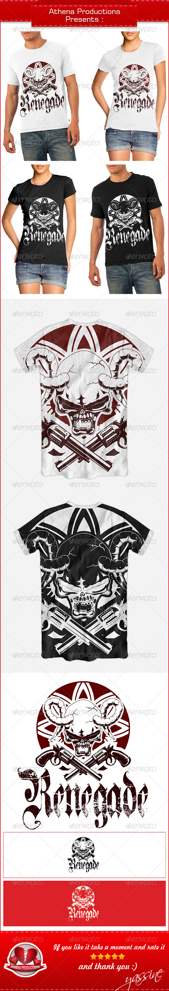 GraphicRiver Renegade Skull 6034289