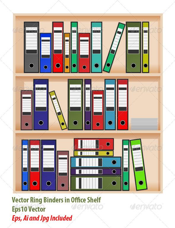 GraphicRiver Office Shelf 6124860