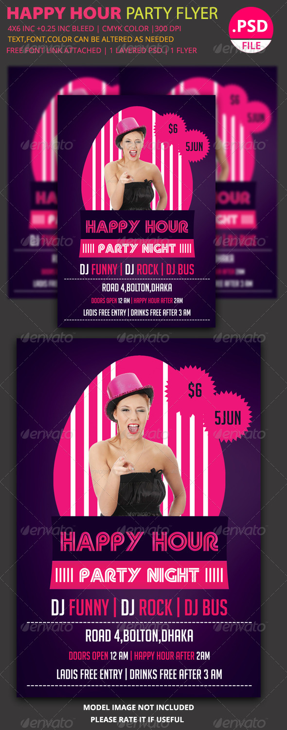 GraphicRiver Party Flyer Template 11 6125105