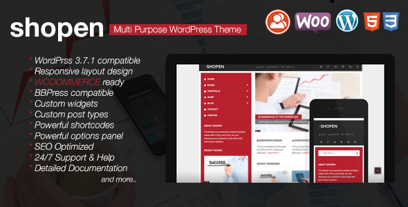 Shopen - Responsive WooCommerce WordPress Theme