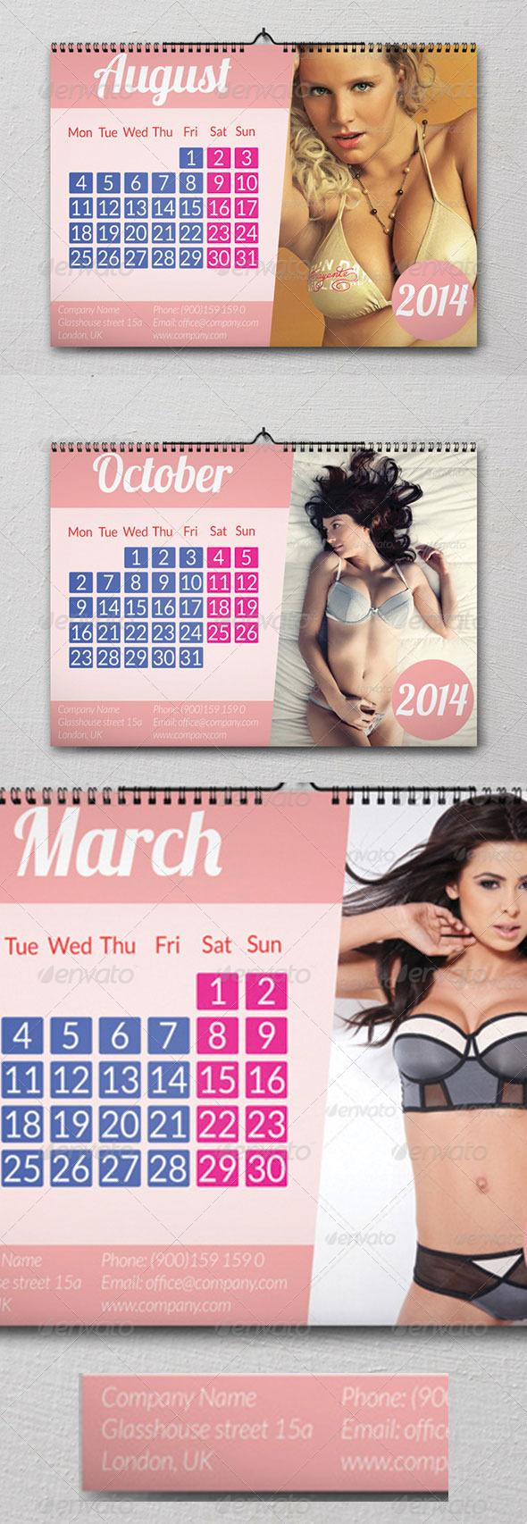 GraphicRiver Calendar A3 6125517