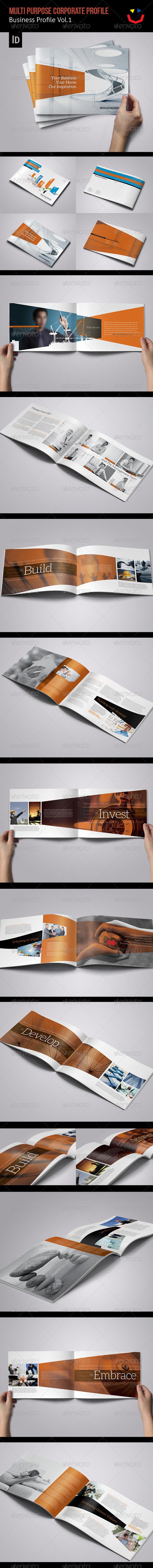 GraphicRiver Corporate Business Profile Vol.1 6086830