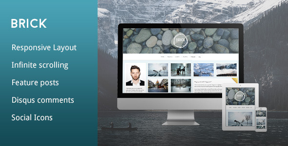 Brick - A Responsive Grid Tumblr Theme