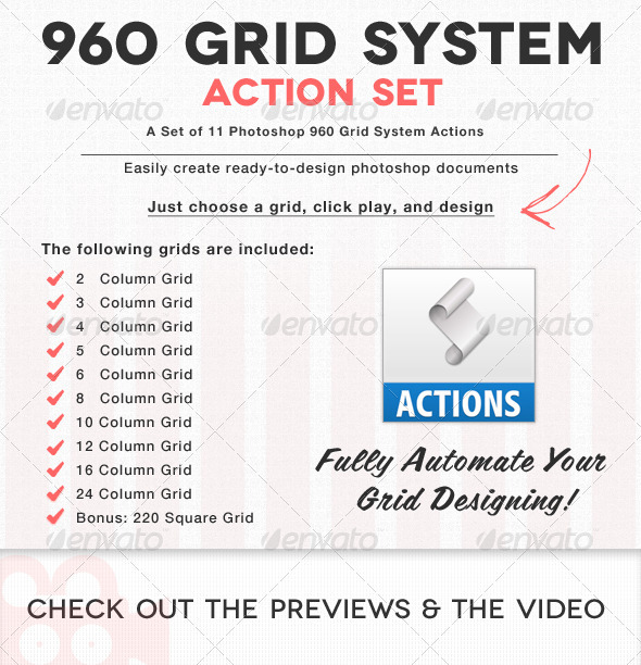 GraphicRiver 11 960 Grid Actions & PNGs 639678