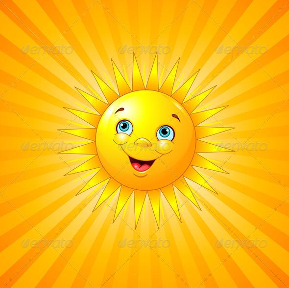 GraphicRiver Smiling Sun 6127977