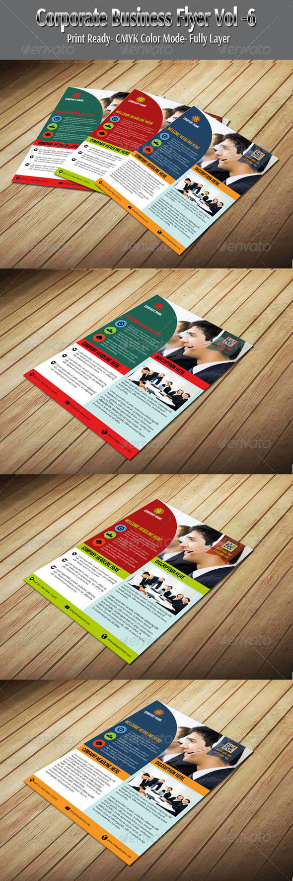 GraphicRiver Corporate Business Flyer Vol-6 6083859