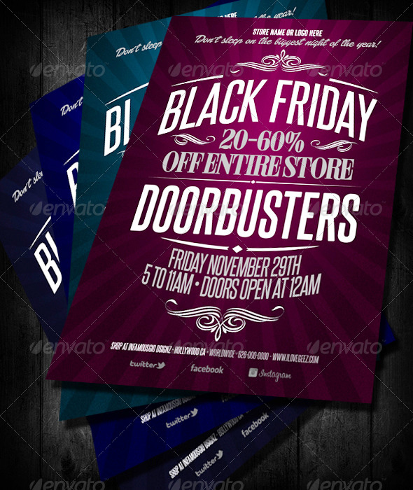 GraphicRiver Black Friday Doorbusters 6130929