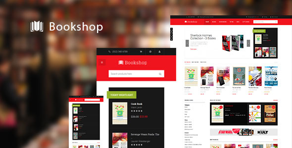 JM Bookshop-Responsive Magento theme for bookshop