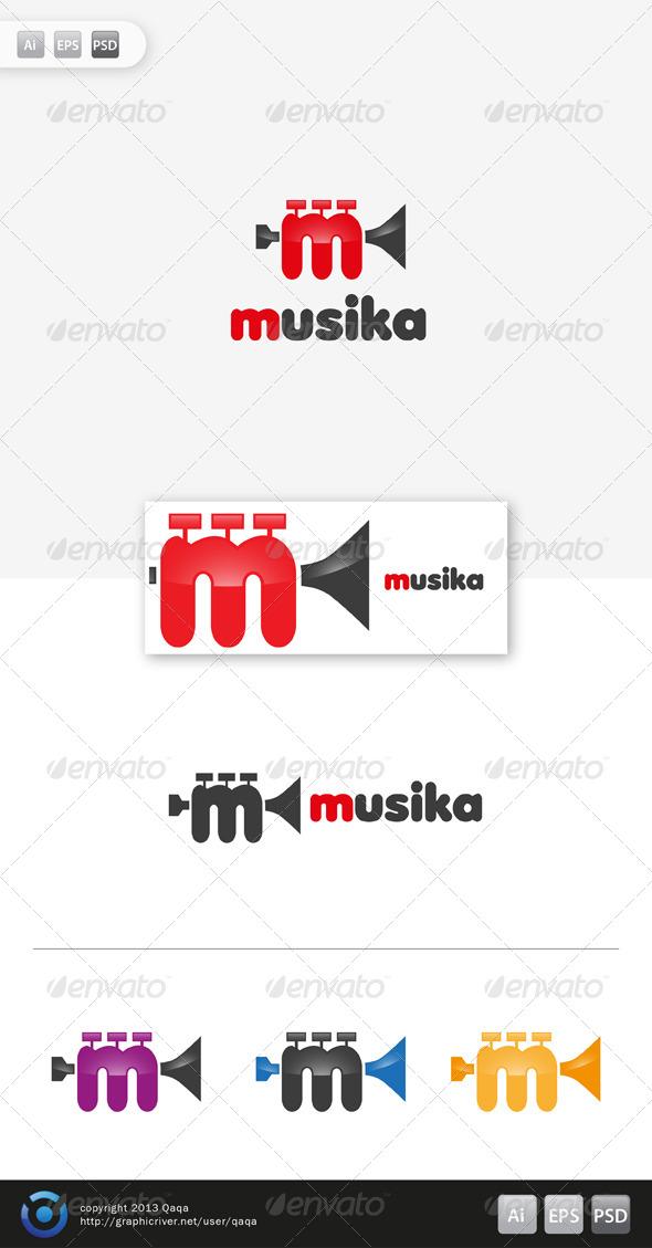 GraphicRiver Music Logo 03 6130976
