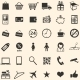 Vector Set of 36 Shopping Icons  - GraphicRiver Item for Sale