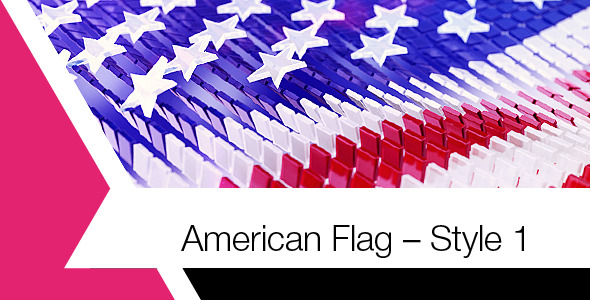 American Flag Style 1