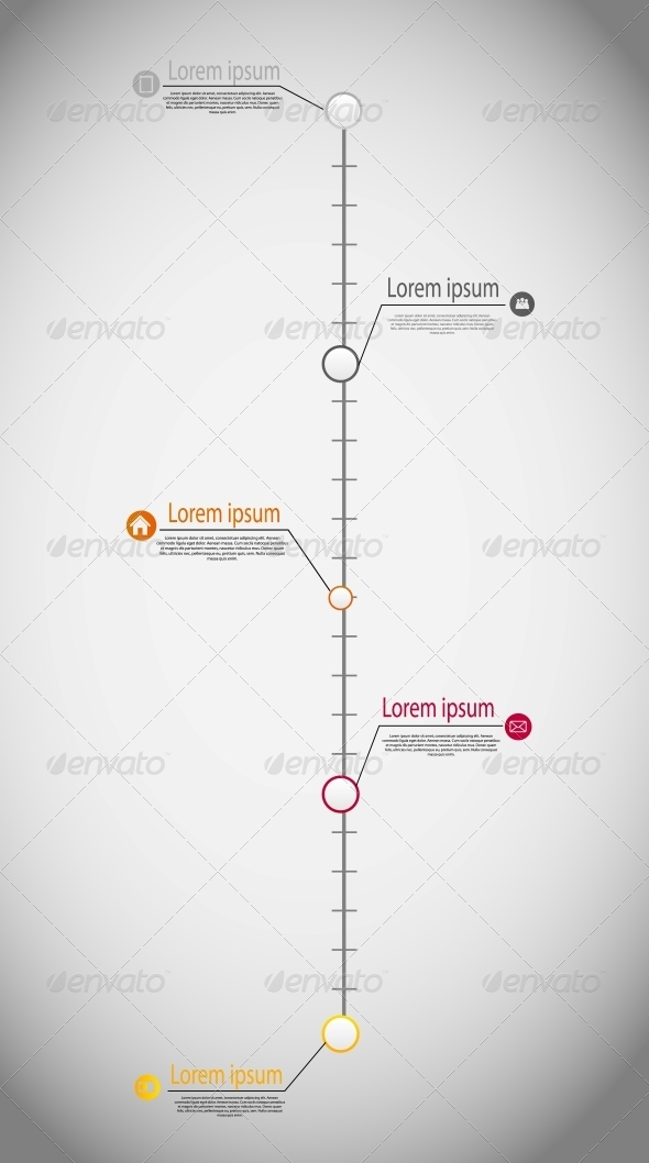 timeline infographic business template vector graphicriver. Black Bedroom Furniture Sets. Home Design Ideas